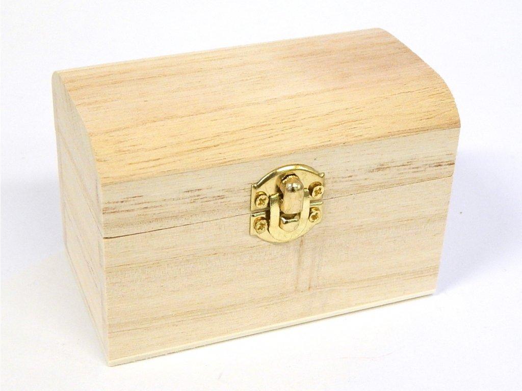 dřevěná krabička 1