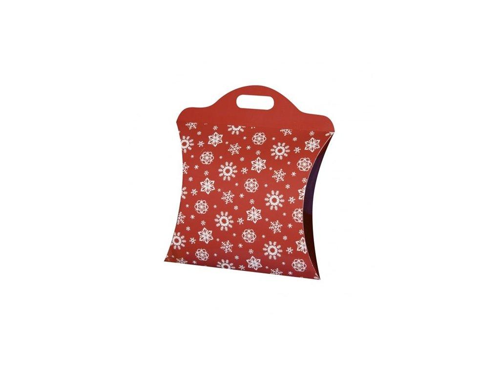 vanocni taska velka cervena