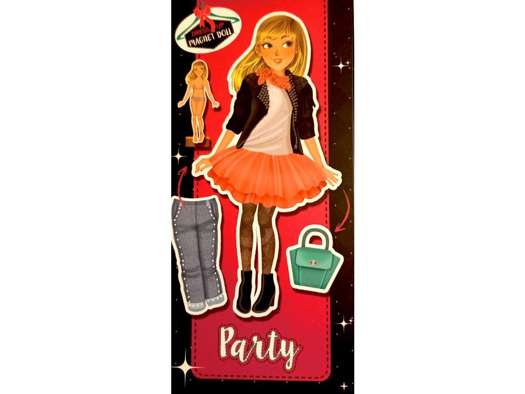 magnetická panenka na party