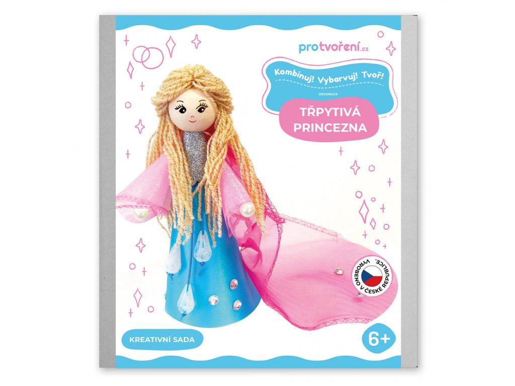 Tvořivá sada, třpytivá princezna