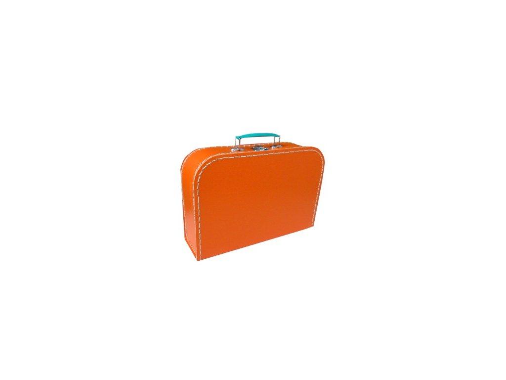 Dětský kufřík 30cm oranžový