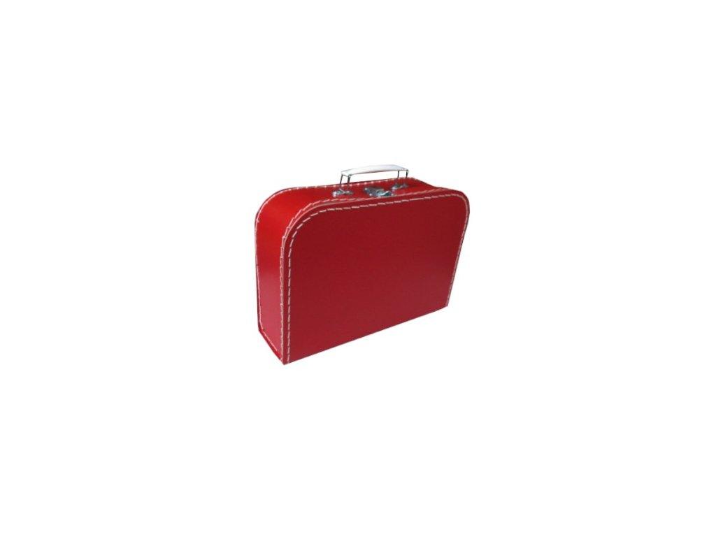 Dětský kufřík 30cm červený