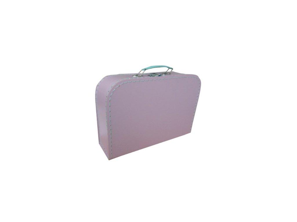 Dětský kufřík 30cm fialový