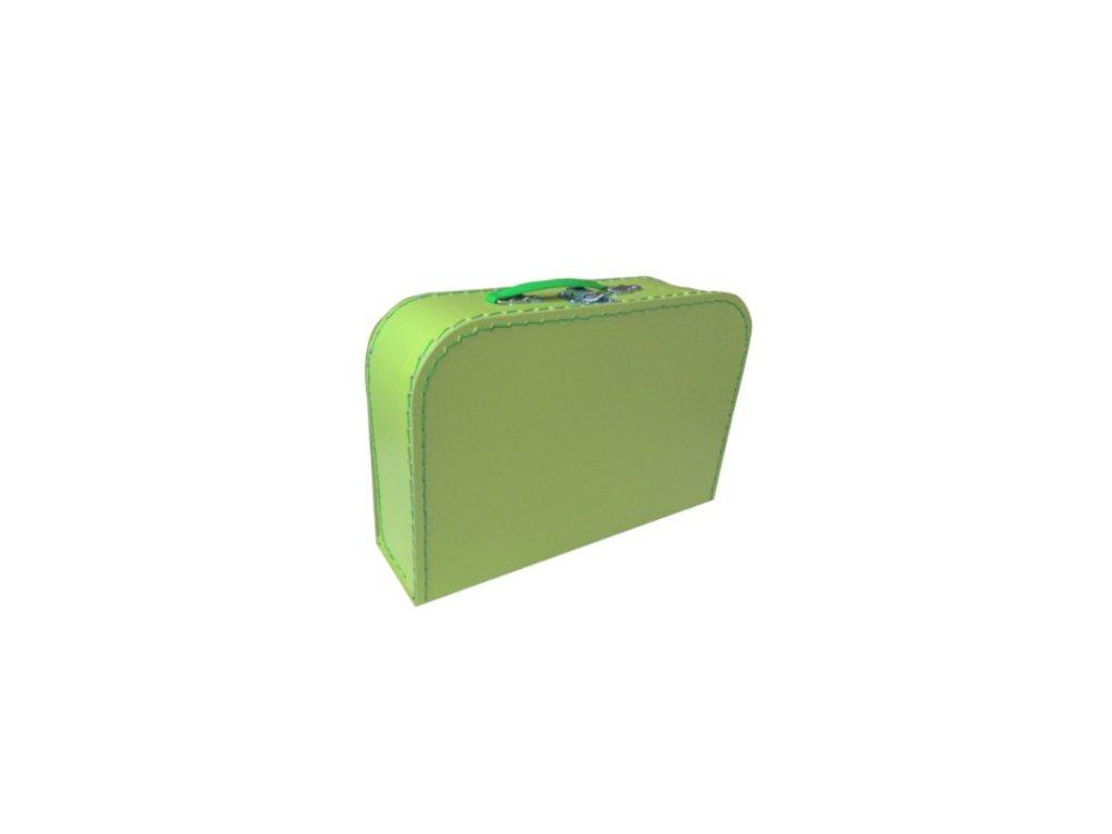 Dětský kufřík 30cm zelený