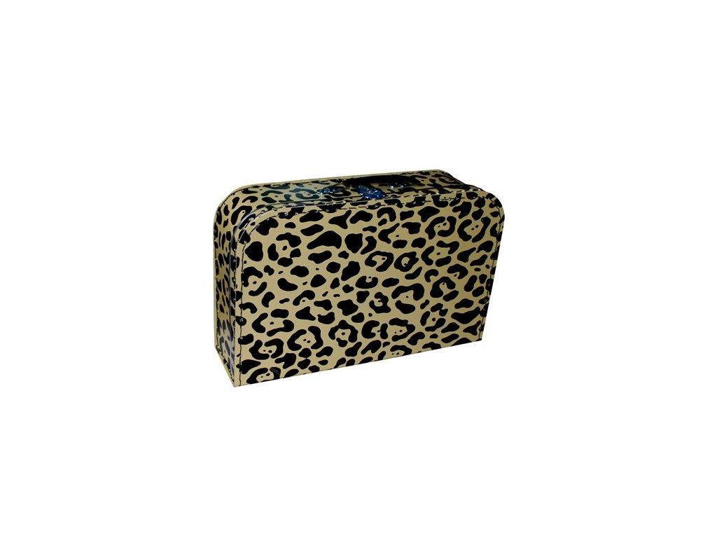 Dětský kufřík 35cm leopard