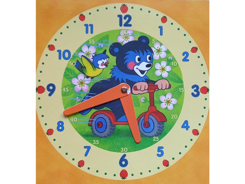 hodiny medvěd