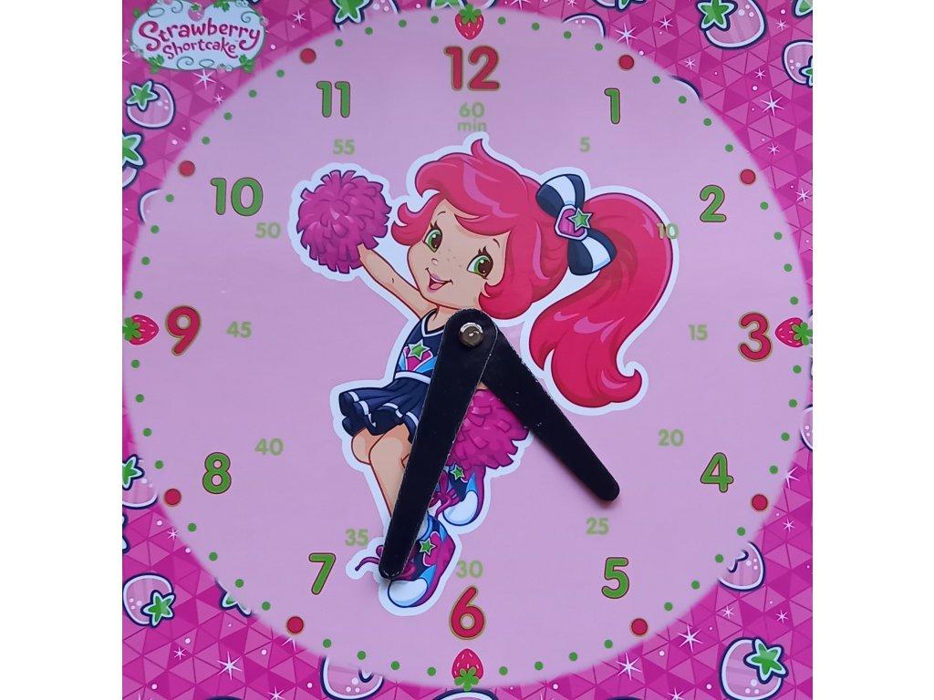 hodiny holčička