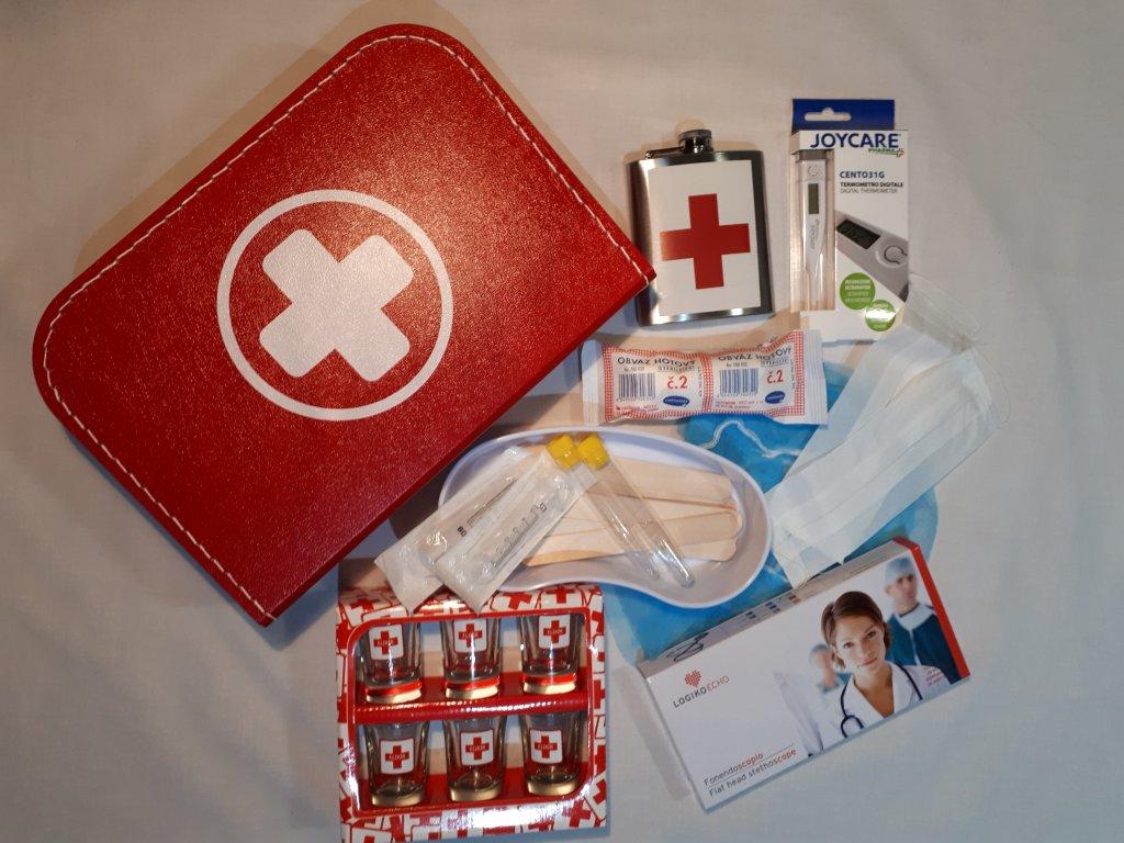 Vybavený dr. kufřík s funkčním stetoskopem PRO DOSPĚLÉ
