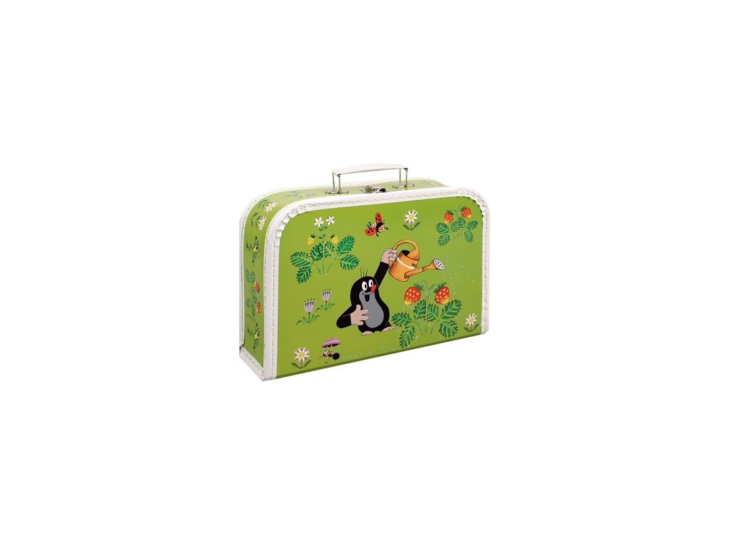 kazeto detsky kufrik krtek zahradnik
