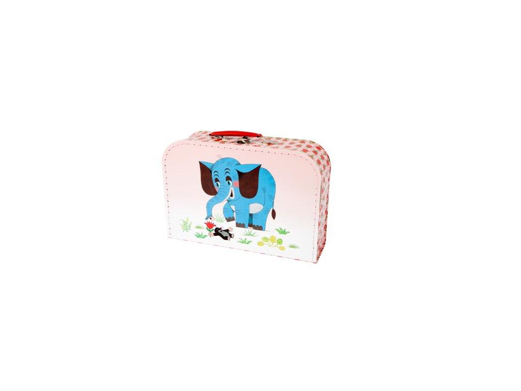 Dětský kufřík 30cm Krtek a slon