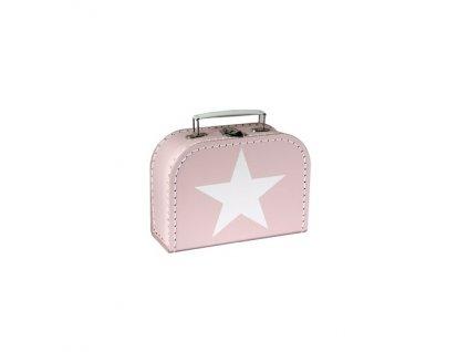 Dětský kufřík růžový s hvězdou