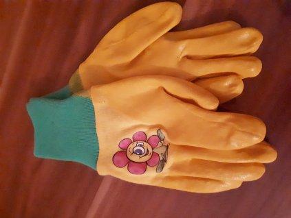 Dětské zahradní rukavice