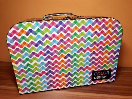 Kufřík color 34 cm