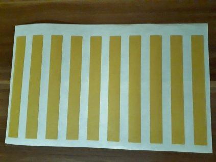 Oboustranná lepící páska