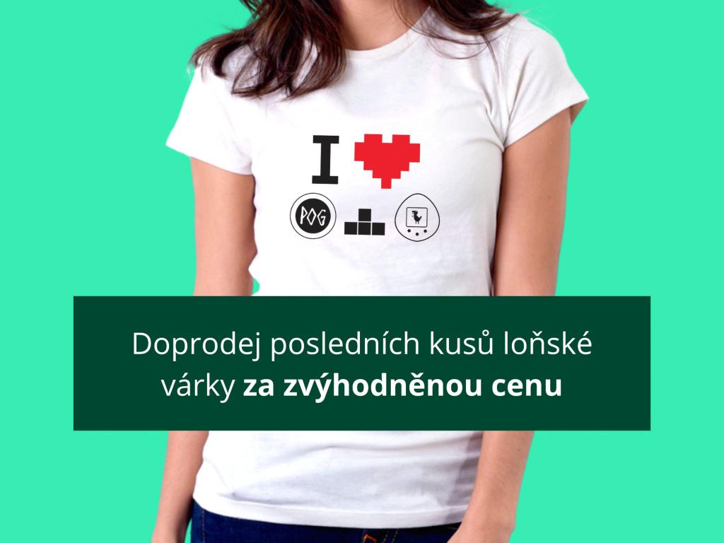 Retroherní tričko  Dámské