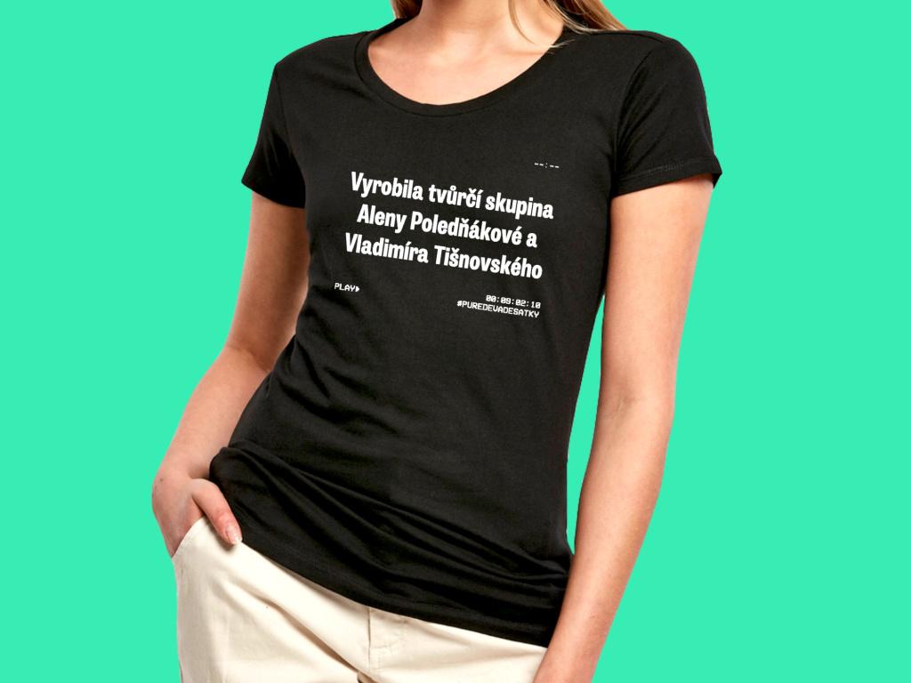Vyrobila tvůrčí skupina  Dámské triČko