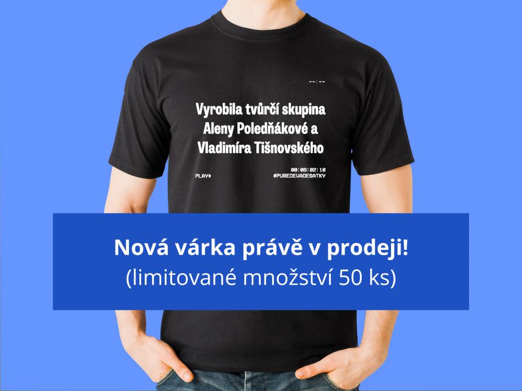 Vyrobila tvůrčí skupina  Pánské triČko
