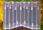 Vánoční záclony, závěsy, ubrusy a dekorace