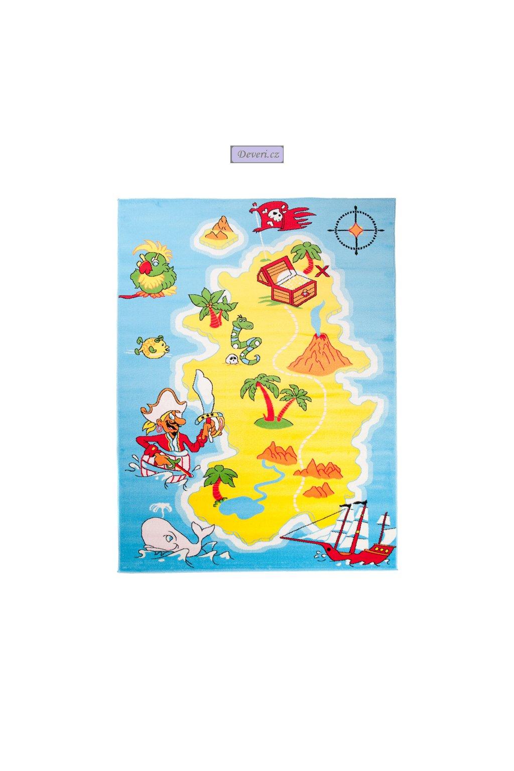 Dywan Dziecięcy SOFT 120x170 Dla dzieci do Zabawy
