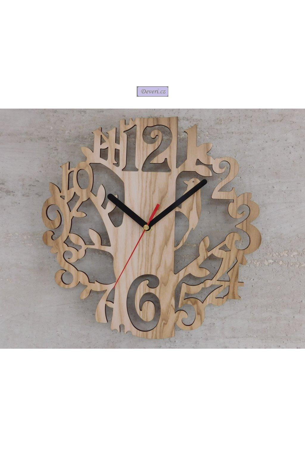 Zegar ścienny DRZEWO Dąb Sonoma Wenge inne 802 5