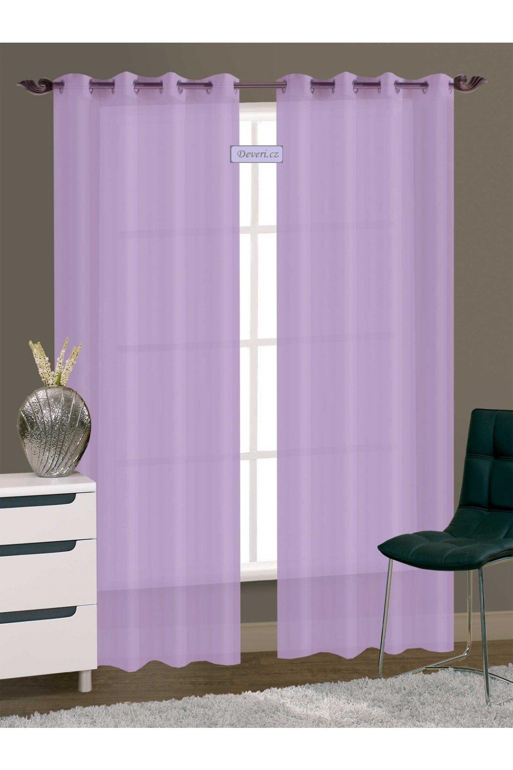 Záclona / závěs Henry 145x250cm různé barvy