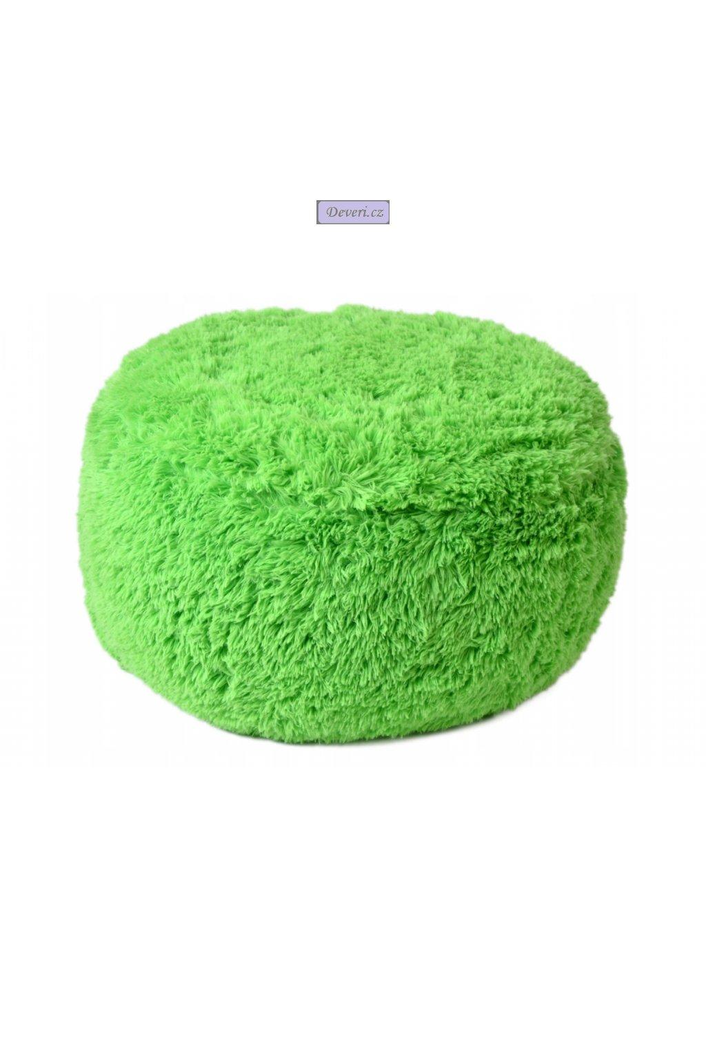zelený puf