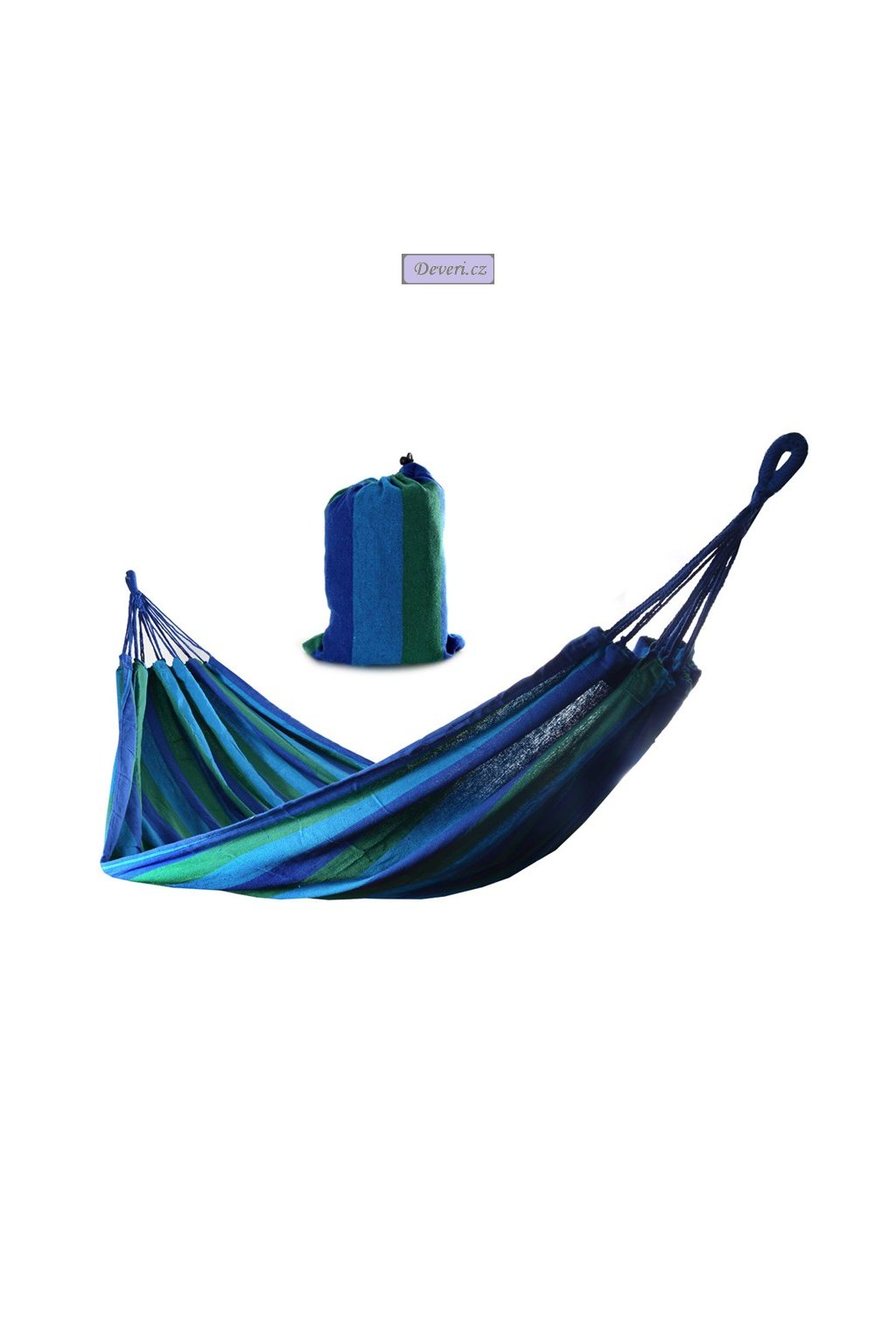 200x85cm zeleno modrá +taška