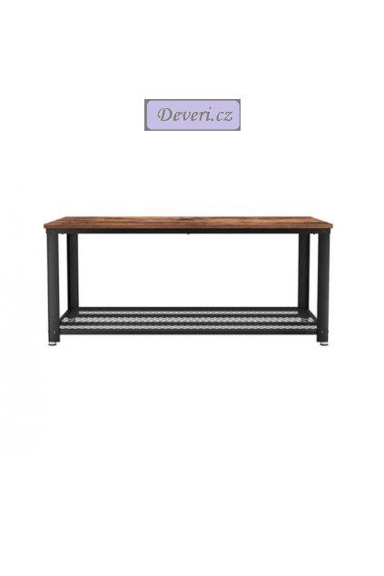 Konferenční stolek 106,2x60,2x45 cm hnědý