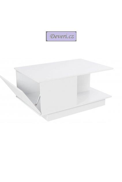 Konferenční stolek se 2 zásuvkami 110x50x45 cm rustikální hnědá