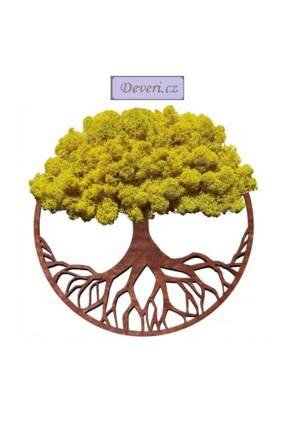 Obraz strom žlutý