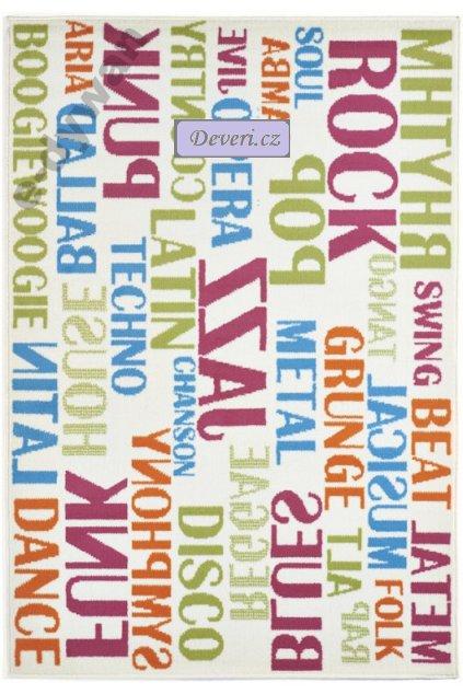 Dywan dla dziecka 120 x 170 POPART MUSIC KOLORY