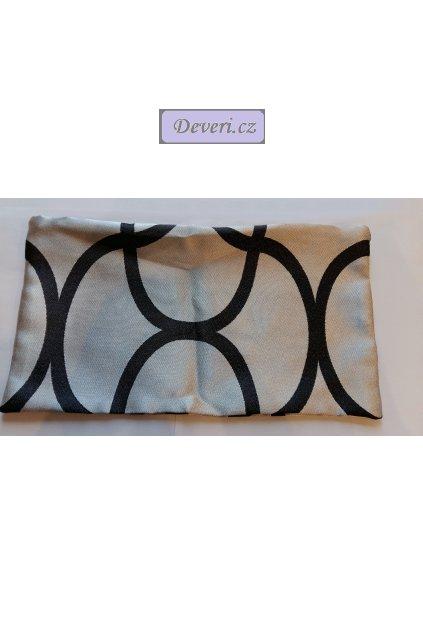Povlak na polštář Afrodita za bedra 39x22cm stříbrný