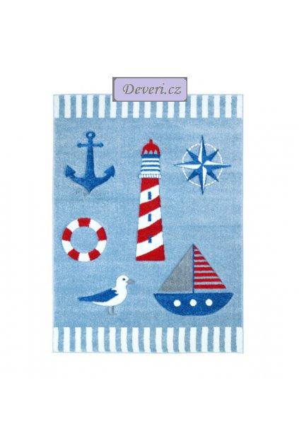 Dětský koberec námořnictví modrý různé rozměry (1)