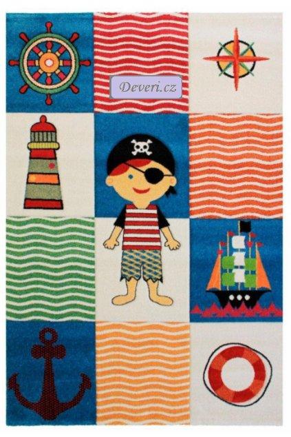 Dětský koberec pirát barevný různé rozměry (1)