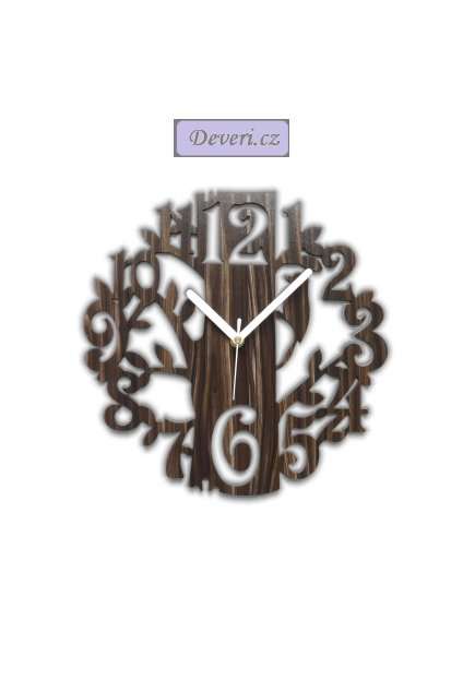 Zegar ścienny DRZEWO Dąb Sonoma Wenge inne 802