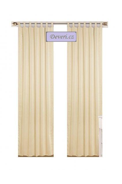 Zatemňovací závěs Oliver matný hrubý 145x250cm různé barvy