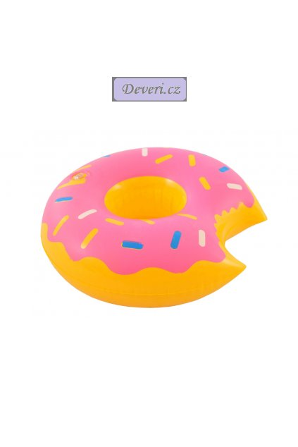 donut růžový