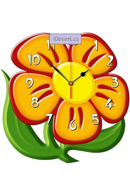 KWIATEK zegar ścienny CICHY MECHANIZM1