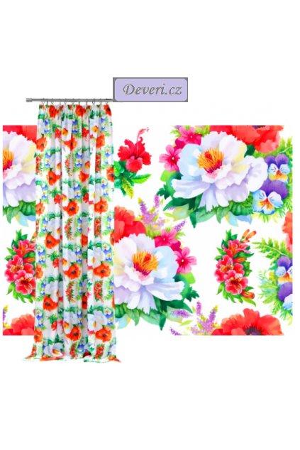 bílý s barevnými květy (1)