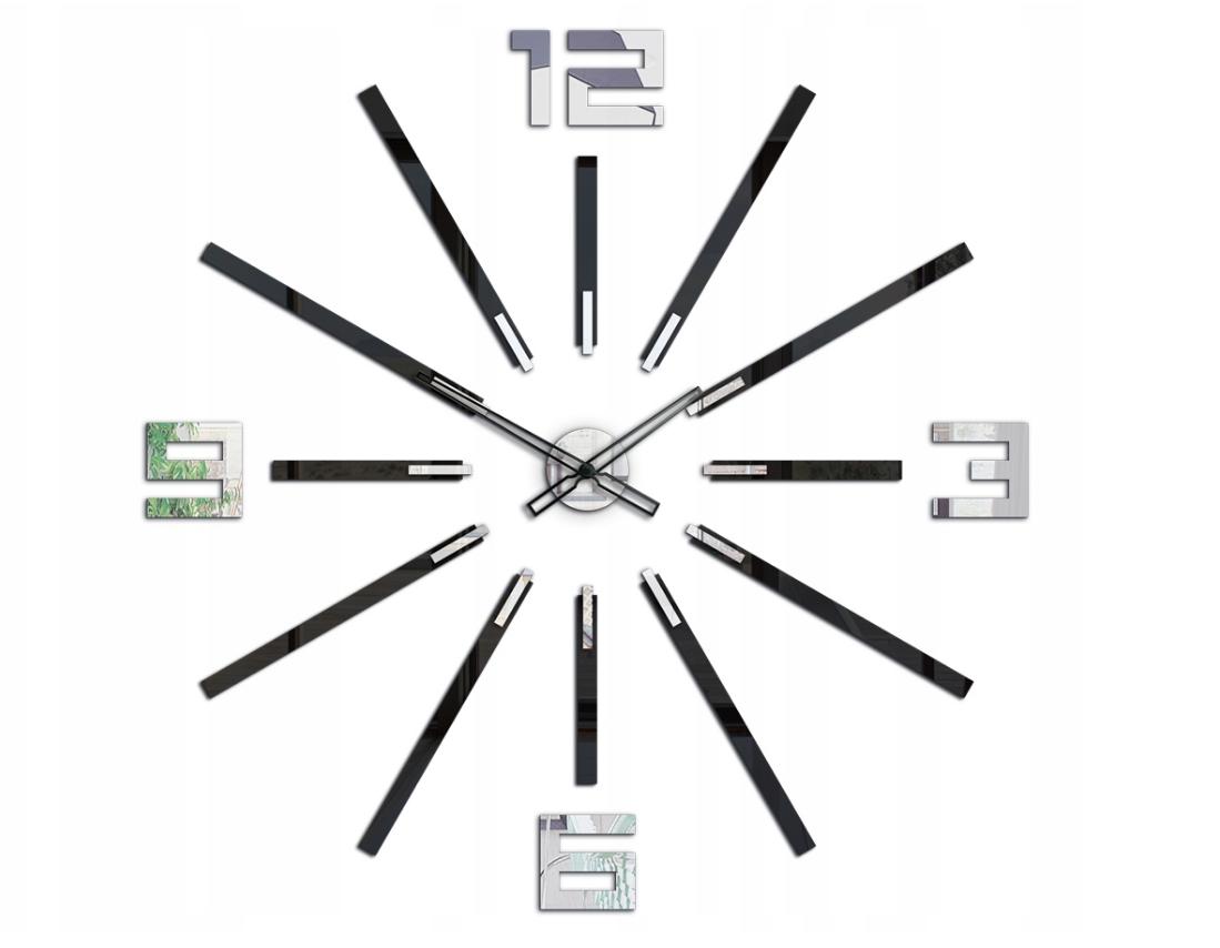 Luxusní velké antialergické hodiny 115x115cm Tiché