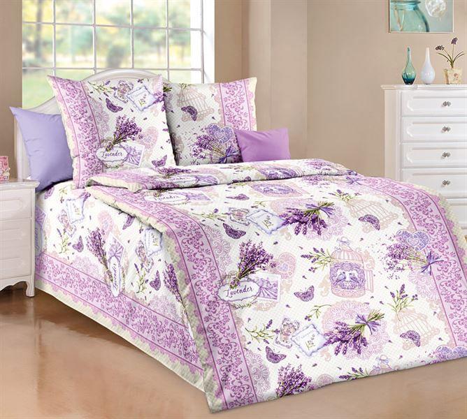 Bavlněné povlečení lavender Rozměr: 140x200cm+70x90cm