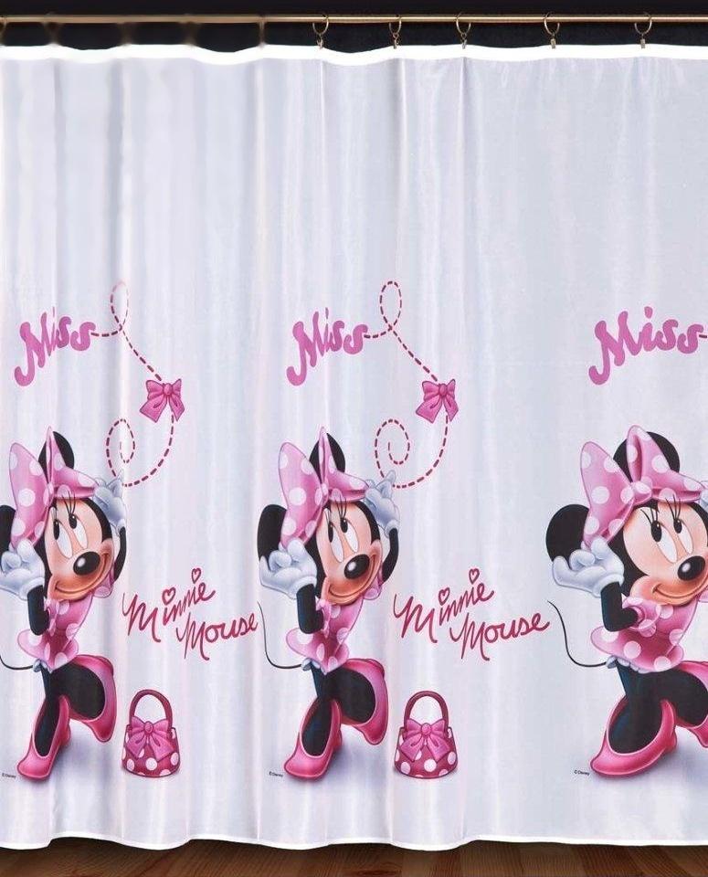 Dětský voál / záclona Disney Minnie Mouse v.155cm