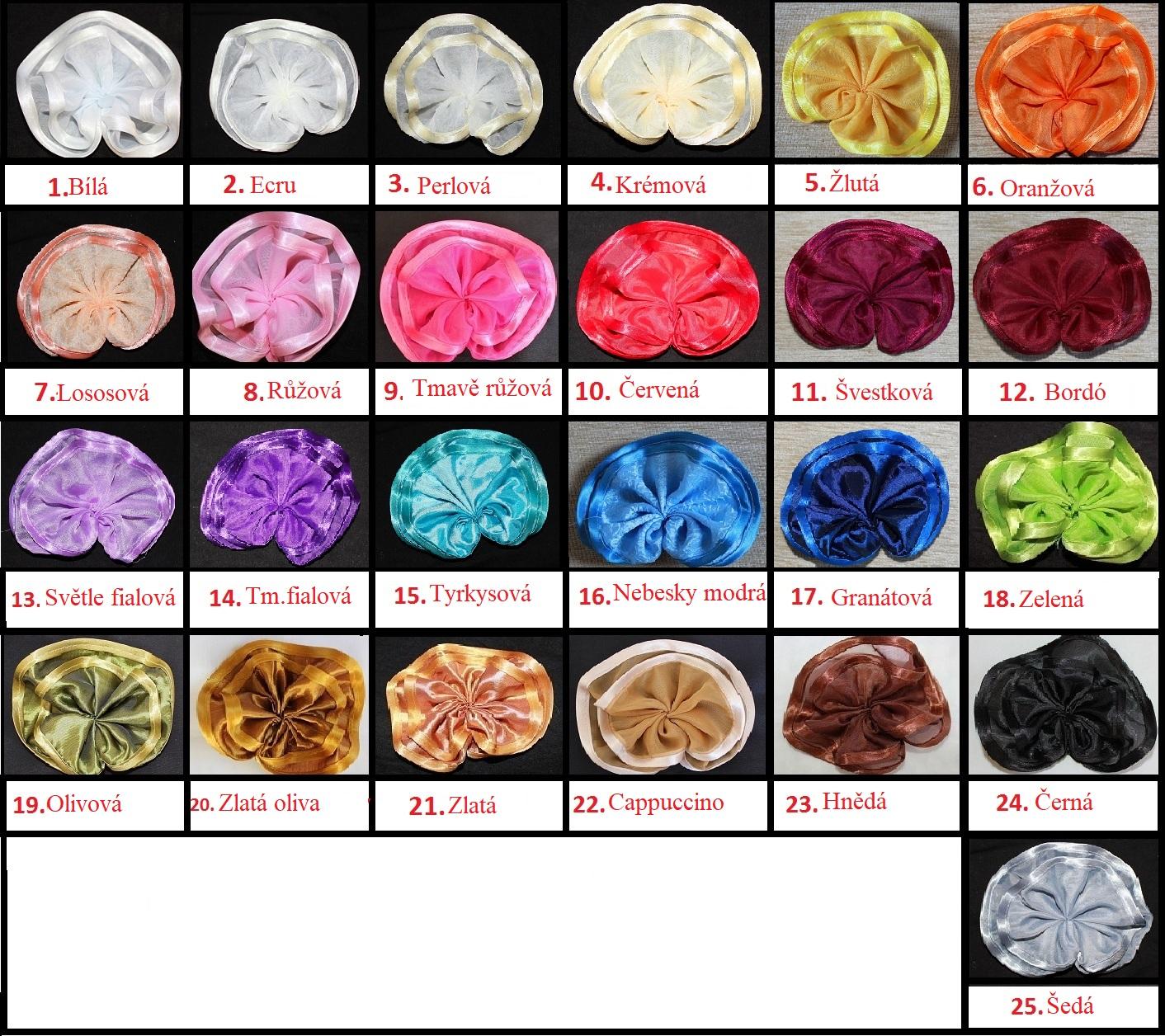 Balkónová voálová záclona Alžběta 600x230cm různé barvy Barva: růžová