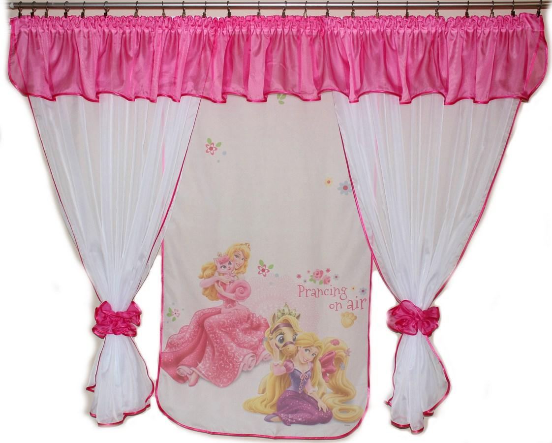 Voálová Záclona Denisa Locika princezna tmavě růžová 400x150cm