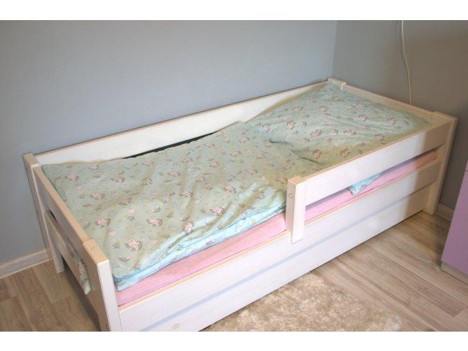 Bavlnené obliečky jednorožce Unicorn 140x200cm / 70x80cm mätovej