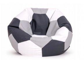 Sedací pufa křeslo pro děti míč různé barvy (1)
