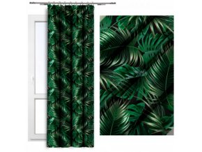 2 verze listy zelené