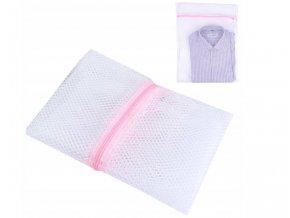 pytlík na praní růžový