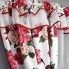 big firana gotowa zaslona kokony lamowka kwiaty L 204 10 3 4