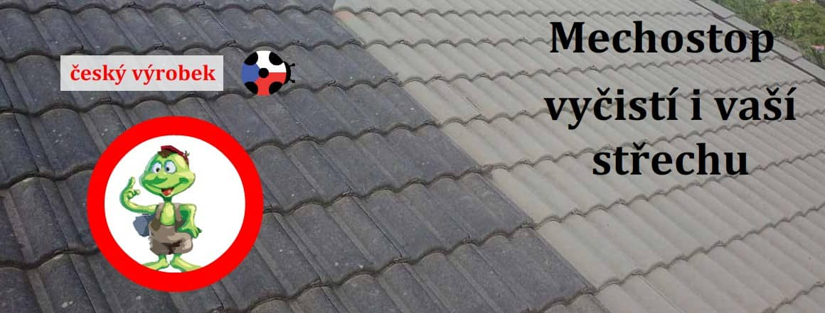 Mechostop - proti mechu na střeše